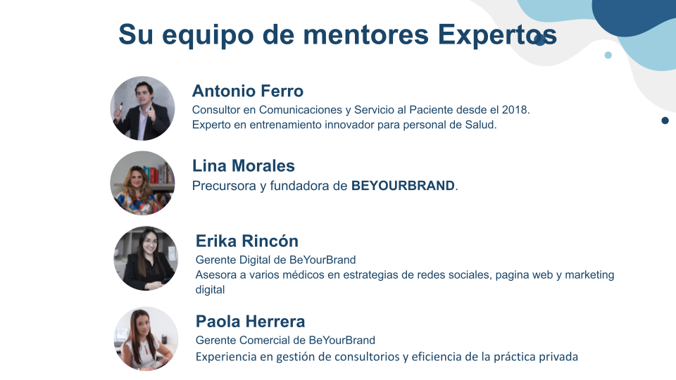 Equipo Be Your Brand