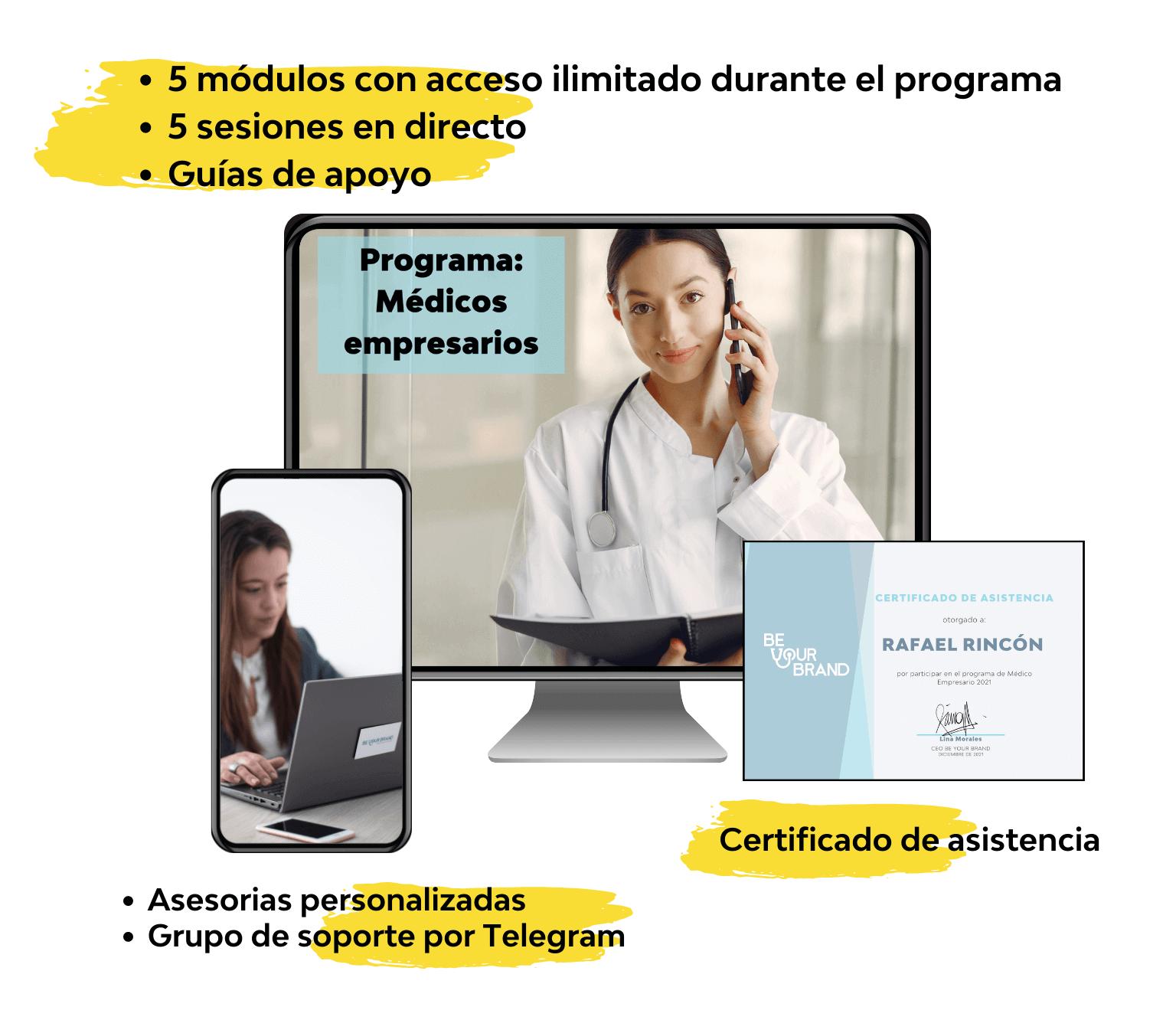 Programa médicos empresarios