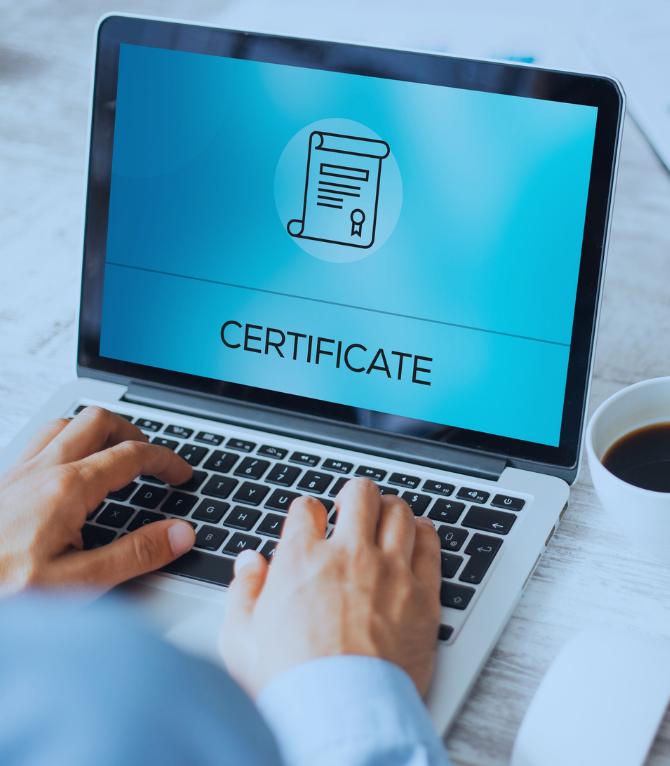 Certificado de asistencia para usted y su asistente